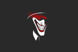 Joker Strange Minimal 5k Wallpaper