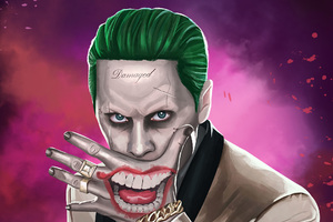 Joker Suicide Squad Artwork HD