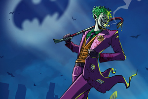 Joker Take Over Gotham City Wallpaper