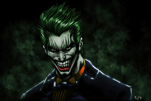 Joker The Laughing Face 4k