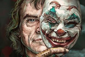 Joker Two Face 4k Wallpaper