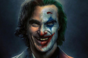 Joker Two Face Smile