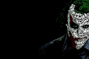 Joker Typography Wallpaper