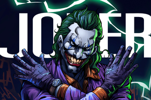Joker Villian 4k
