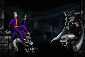 Joker Vs Batman 5k