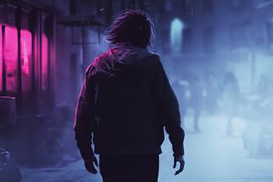 Joker Walking Alone