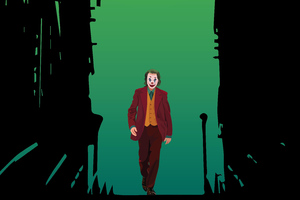 Joker Walking Fame