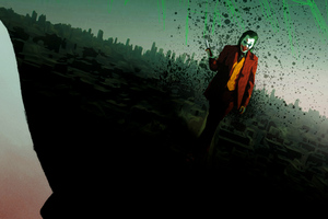 Joker Walking Wallpaper