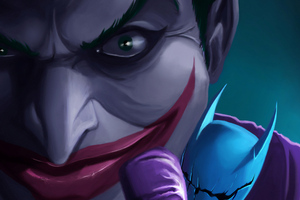 Joker With Bat Dool