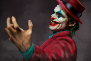 Joker With Cap 4k