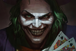 Joker With Cards