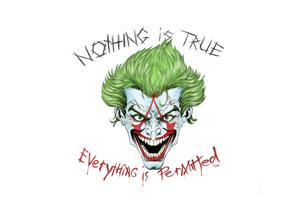 Joker X Assassin Wallpaper