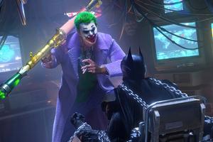 Joker X Batman 4k Wallpaper