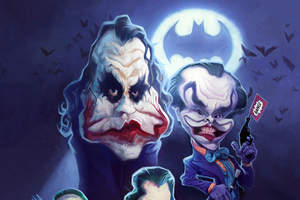 Jokers Face Art