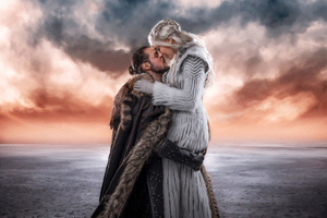 Jon Snow And Khalessi Love Cosplay 4k Wallpaper