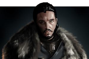 Jon Snow Game Of Thrones Digital Art