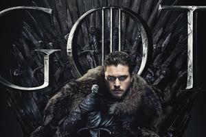 Jon Snow Game Of Thrones Season 8 Poster