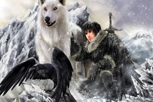 Jon Snow Targaryen 5k Wallpaper