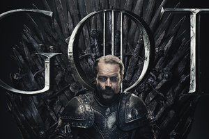 Jorah Mormont Game Of Thrones Season 8 Poster