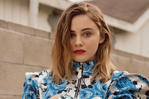 Josephine Langford V Magazine 2021 Wallpaper