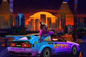 Joyride Wallpaper