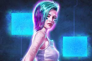 Judy Alvarez Cyberpunk 2077 Fanart 4k