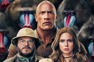Jumanji The Next Level 2019 Poster Wallpaper