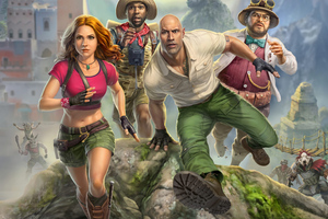 Jumanji The Video Game Wallpaper