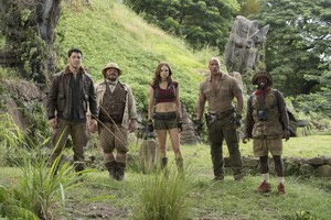Jumanji Welcome To The Jungle Cast 5k