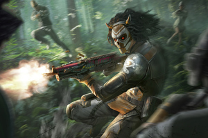 Jungle Hunter Pubg 4k Wallpaper