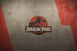 Jurassic Park Logo 5k Wallpaper