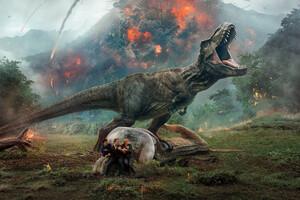 Jurassic World Fallen Kingdom 10k Wallpaper