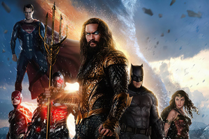 Justice League 2020 Artwork 4k