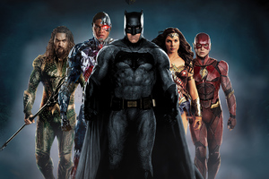 Justice League 2020 New