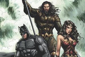 Justice League Aquaman Batman Wonder Woman Artwork