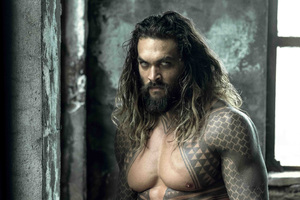 Justice League Aquaman Shirtless 5k Wallpaper