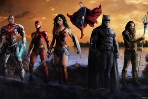 Justice League Artwork HD Wallpaper