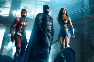 Justice League Batman Flash And Wonder Woman