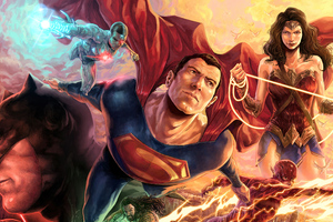 Justice League Dc Fandome Artwork