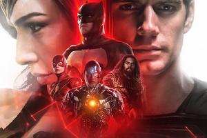 Justice League FanDome Poster 5k