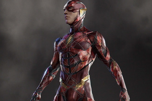 Justice League Flash Concept Art