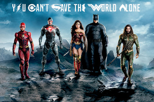 Justice League Flash Cyborg Wonder Woman Batman Aquaman Wallpaper