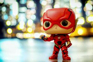 Justice League Flash Funko Pop Wallpaper