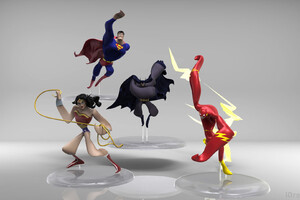 Justice League Gesture