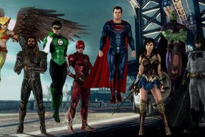 Justice League HD Artwork