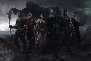 Justice League Heroers Fanart 5k