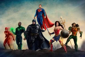 Justice League Heroes 4k 2020 Wallpaper