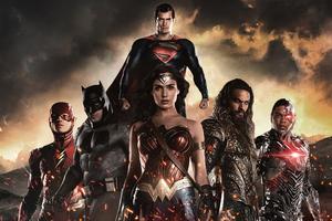 Justice League Heroes 5k
