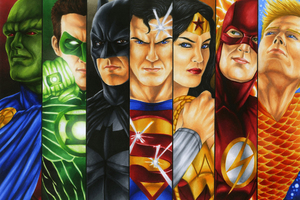 Justice League Heroes Fanart 4k
