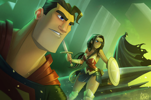 Justice League Heroes New